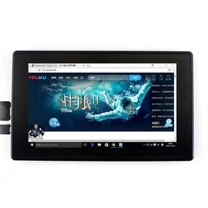 Image 3 - Waveshare 7 بوصة HDMI LCD (H) + الحال ، 1024x600 ، IPS ، بالسعة اللمس LCD ، دعم WIN10 IOT ، فوز 10/8. 1/8/7 ، التوت بي ، الموز بي الخ
