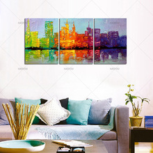 ViVi YOU ART Abstract Oil Painting Modern HandPainted