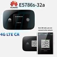 300 м Быстрый 4 г модем LTE Wi Fi Беспроводной маршрутизатор Huawei e5786 300 Мбит/с 4 г LTE маршрутизатор cat6 Wi Fi маршрутизатор