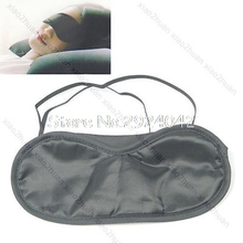 5 Pcs Black Travel Sleep Rest Eye Shade Sleeping Mask Cover Blinder HTY07