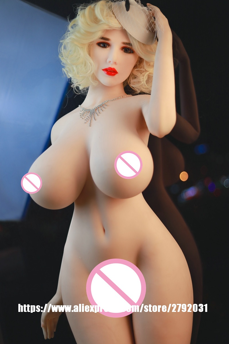 Super Big Breast Real Silicone <font><b>Sex</b></font> <font><b>Doll</b></font> <font><b>168cm</b></font> Full Body Love <font><b>Doll</b></font> with metal skeleton Artificial Vagina Sexy Product For Men image