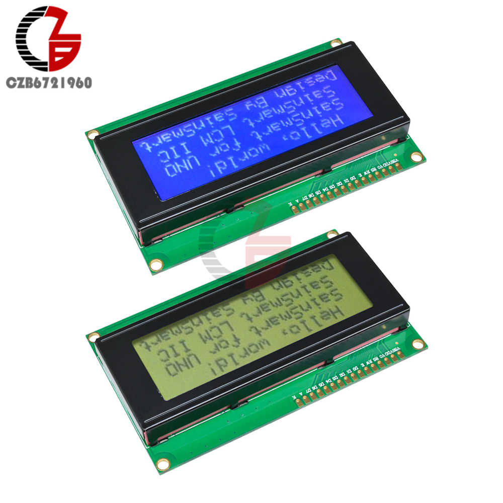 NEW 204 2004 20X4  Character LCD Display Module HD44780 Controller Blue Arduino