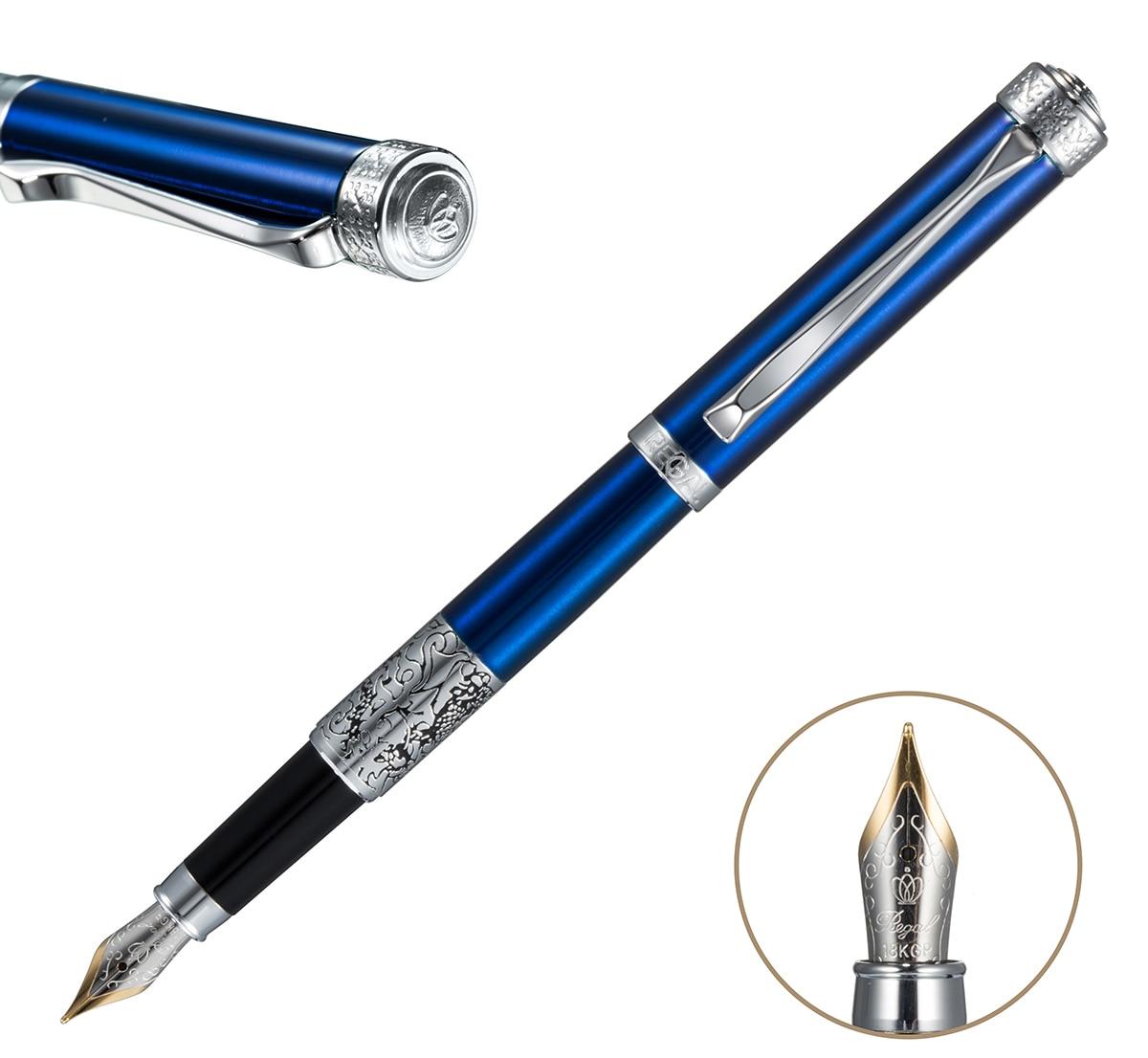Ideal para Pós-graduação/negócio/ Celluloid Fountain Pen Bonito Branco/preto