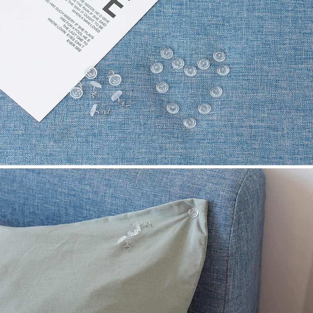 50 шт. ясные головы twist-пен фиксированной застежкой для обивки одеяла Диван Наборы