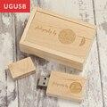 ¡ Venta caliente!! barato natural de la vendimia De Madera Usb flash drive Pen drive Usb logotipo Personalizado disco memory stick usb 1 GB 2 GB 4 GB 8 GB 16 GB 32 GB