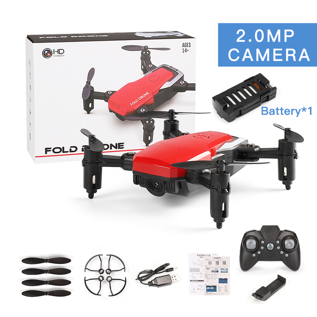 RC Drone with Camera wifi FPV mini Quadcopter Foldable RC Drones with Camera HD Altitude