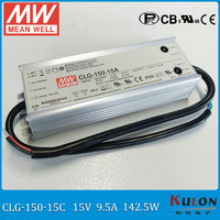 Original MEAN WELL 150W 15V LED driver CLG 150 15C 150W 9.5A terminal block connect meanwell adjustable LED power supply 15V