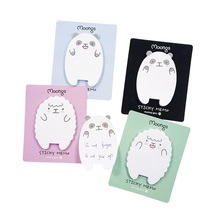 1pack/lot Cute Cartoon Panda Sheep Sticky Memo Planner Sticker Kawaii Stationery Notes Pads Office School Supplies