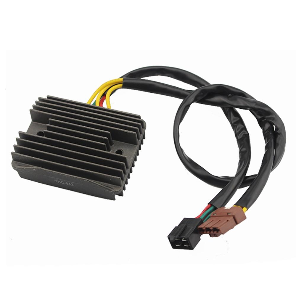 2 plug motorcycle voltage regulator rectifier for aprilia. Black Bedroom Furniture Sets. Home Design Ideas