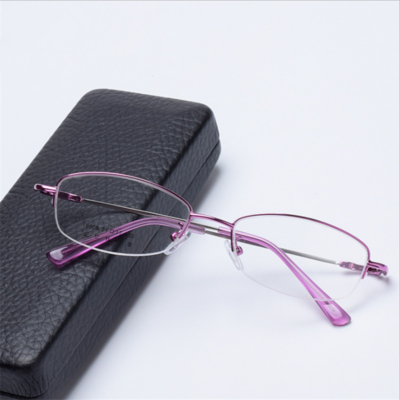 Blue light glasses Prescription Women Eyeglasses Optical Frame  Myopia Farsighted Progressive Multifocal Astigmatism 908(China)