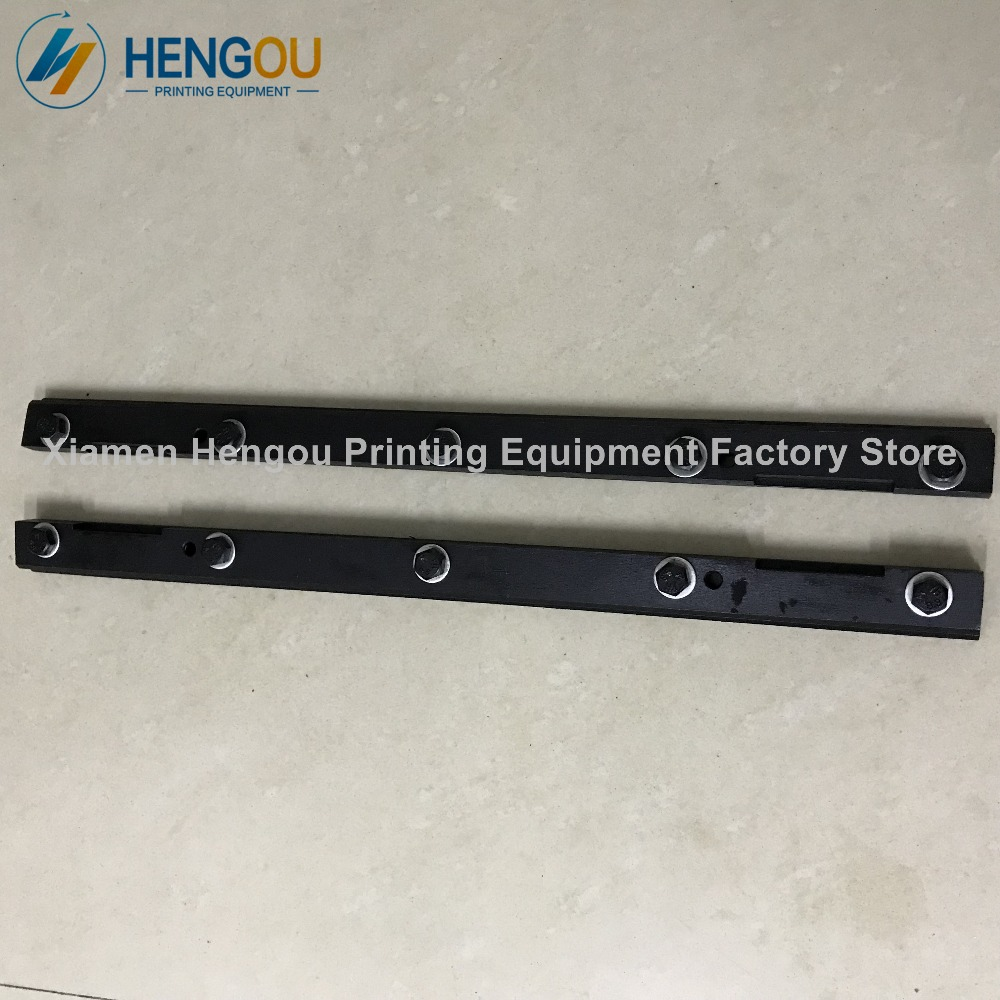 2 pair good quality blanket bar assembly for Heidelberg GTO46 machine 5 bolts gto 14 days in shonan vol 5