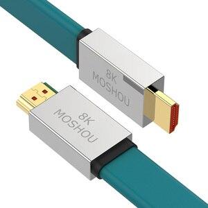 Image 2 - HDMI 2.1 Dây Cáp 8K @ 60Hz 48Gbps Tốc Độ Cực Cao 4K 120 Hz Cho LG Samsung QLED Tivi Đa Phương Tiện Khuếch Đại Máy Chiếu Video Dây Âm Thanh