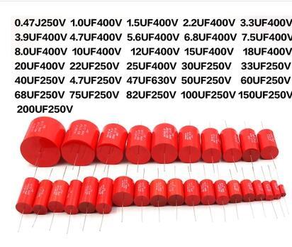 Audiophiler Axial MKP 1UF-50UF 35 30 25 22 20 18 15 12 10 4.8 5.6 47.7 3.3 2.2 1 400V Metal Film Coupling Divider Capacitor Ampl