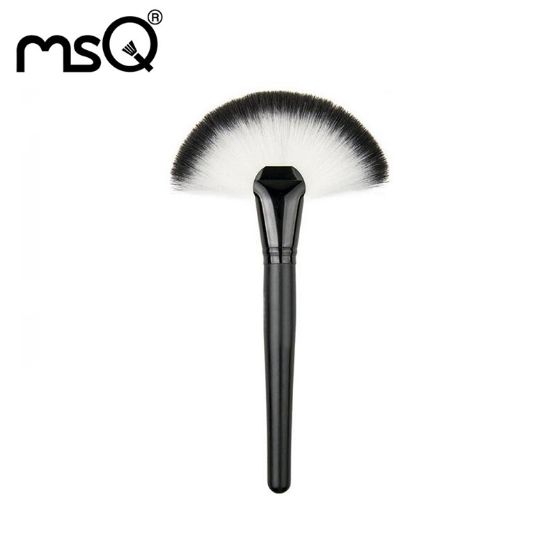 Powder Brush Makeup Brushes Professional Makeup Brushes For Powder New Brand Cosmetic Tool For Make Up Large Fan Paint Brush Hot professional makeup brush flat top brush foundation powder beauty cosmetic make up brushes tool wooden kabuki
