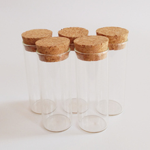 25ml test tube 27*70mm clear glass with cork stoppers tubing Storage jars for flowers 30pcs/lot