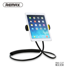 Remax Lazy Holder Mobile Phone Holder 360 Degree Flexible Can Neck Hanging Waist Hanging With Shcokproof Bubble For Phone 4″-10″
