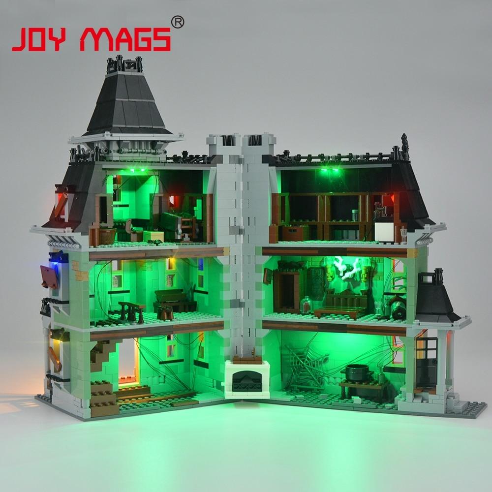 JOY MAGS Meningkatkan Kit Lampu Led Untuk Pencipta 10228 City Monster - Mainan pembinaan - Foto 4