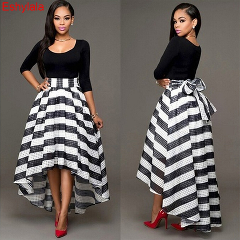 Fashion Women Long Maxi Formal Party Queen Cocktail Striped Dress Prom Gown Dress Graceful Women Dress