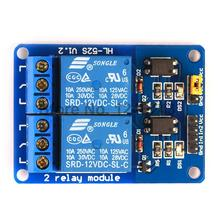 20PCS  2Channel New 2 Channel Relay Module Relay Expansion Board  12V Low Level Triggered 2Way Relay Module For Arduino