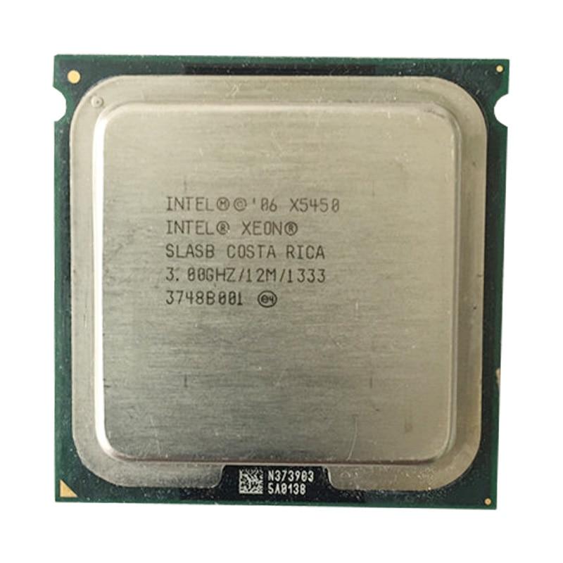Original intel xeon X5450 CPU Quad Core processor CPU servidor 3.0G/LGA771-775/12 MB funciona em LGA775 mainboard enviar adaptador livre