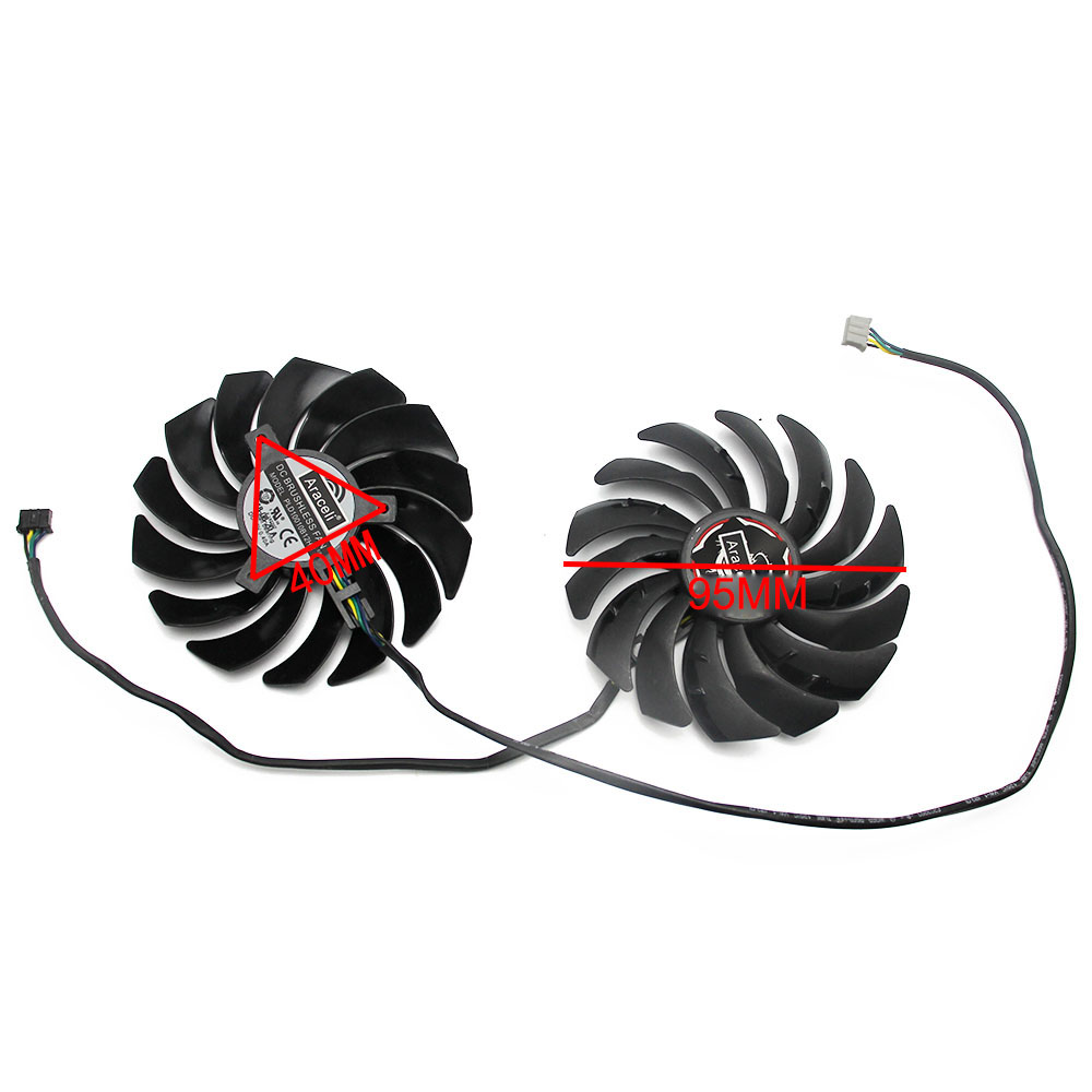 Image 3 - 95MM PLD10010B12HH  RTX2070 X 8G Cooler Fan For MSI RTX 2070 GAMING Z Card FanFans