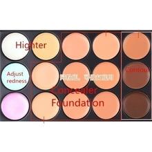 MIni 15 Colors Face Concealer Camouflage Cream Contour Palette camouflage makeup professional corrective