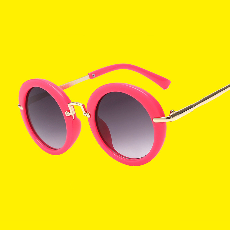 Round Children Sunglasses Boys Girls Vintage Retro Sunglass Brand Designer Sun glasses Kids Oculos De Sol Outdoor Hipster Gafas