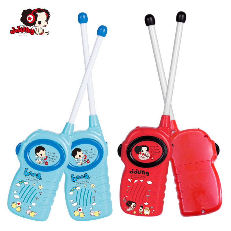 Ddung Toys Children's Walkie-talkie Outdoor Wireless Calls Phone Boys Girls A Pair Of Walkie-talkies Red Blue