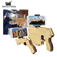 Data Frog 3D DIY Augmented Reality AR Gun For Xiaomi Android IOS Bluetooth AR Games Game