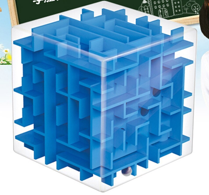 3d puzzle NeoKub Toys For Children 3D Rotating Cube Magic Maze With Magnet Balls Learning Resources educational toys