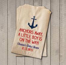 Parartdiy Boy Nautical Popcorn Candy Buffet Lolly Bags