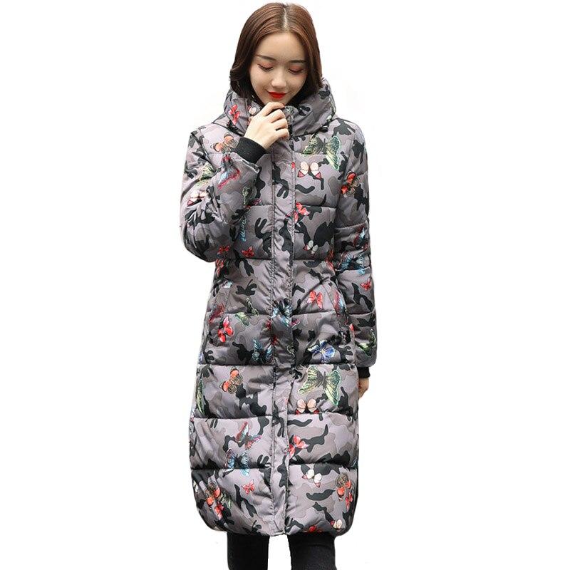 Fashion Winter Jacket Women 2019 Thick Warm Female Jacket Cotton Coat   Parkas   Long jaqueta feminina inverno Women Hooded Coat