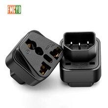 PDU điện phích cắm chuyển đổi BỘ LƯU ĐIỆN C14 cắm vào ổ cắm đa năng máy chủ cắm C13 Adapter ổ cắm đầu