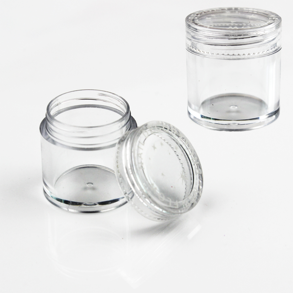 Empty Cosmetic Containers Bottle Contenitori Cosmetici Jar 10Gram Envases Plastico Garrafa Plastic Jars With Lid Makeup Storage empty cosmetic containers bottle 10gram