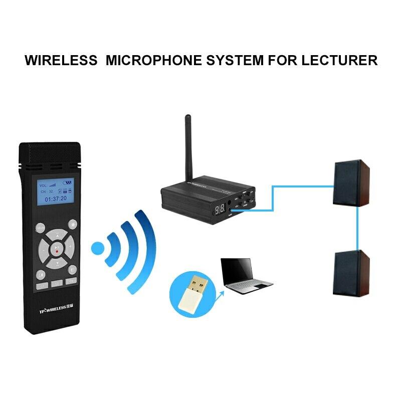 TP-WIRELESS 2.4GHz traadita kaasaskantav mikrofon ja - Kaasaskantav audio ja video - Foto 3