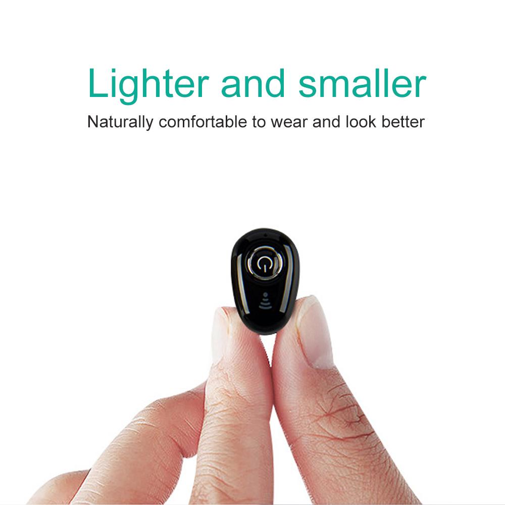 S650 Mini Bluetooth Earphones Wireless Headphones Headset wint Mic Earbuds for xiaomi iphone huawei (2)