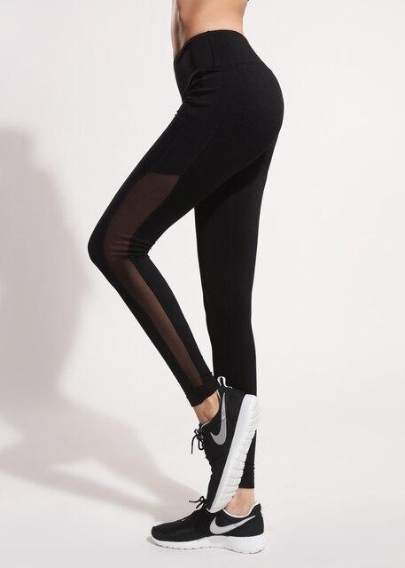 Autumn Season Fitness Yoga Pants Slim Women Quick Drying Sportswear 2016 Yoga Leggings Woman New Arrival Fitness Pants Size S-XL