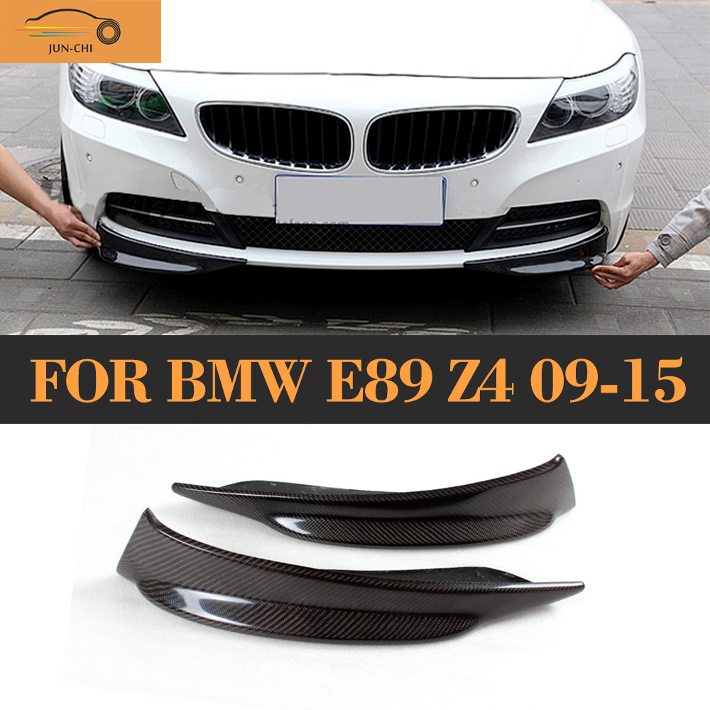 Bmw Z 4 Price: Carbon Fiber Front Bumper Diffuser Splitter Apron For BMW