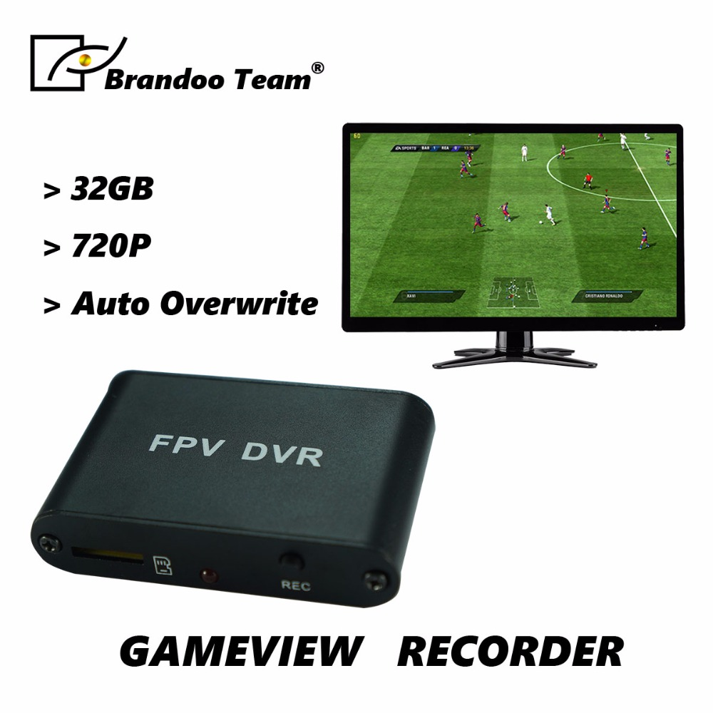 Mini Size Gameview Recorder, 32G Micro SD card recording, auto overwriting,PS2,PS3 game recorder. цена