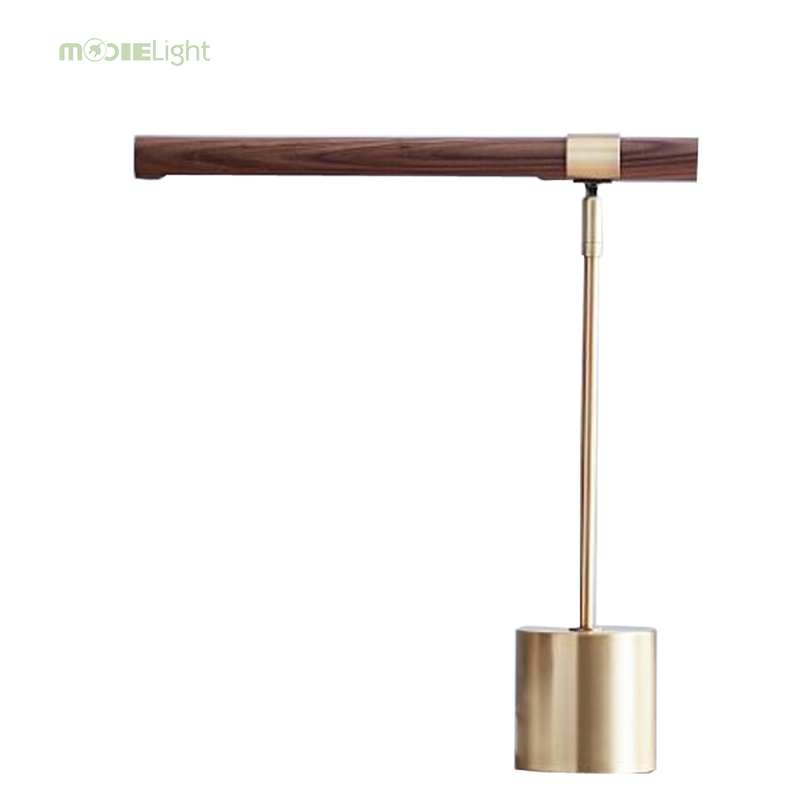 Aggressive Modern Simple Metal Led Table Lamp Luminaria Novelty Wood Fabric Bedroom Led Table Lights Fixtures Led Table Light Tafellamp An Enriches And Nutrient For The Liver And Kidney Led Table Lamps