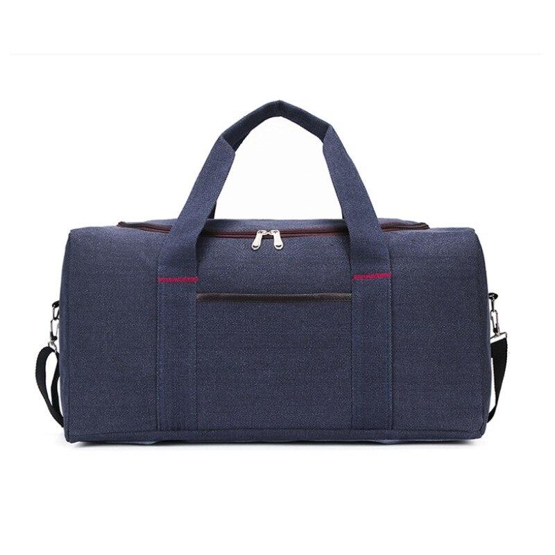 JXSLTC Fashion Brand Extra Large Weekend Backpack Large Travel Bag Men Canvas Business Popular Design Rough Vintage Travel Bag