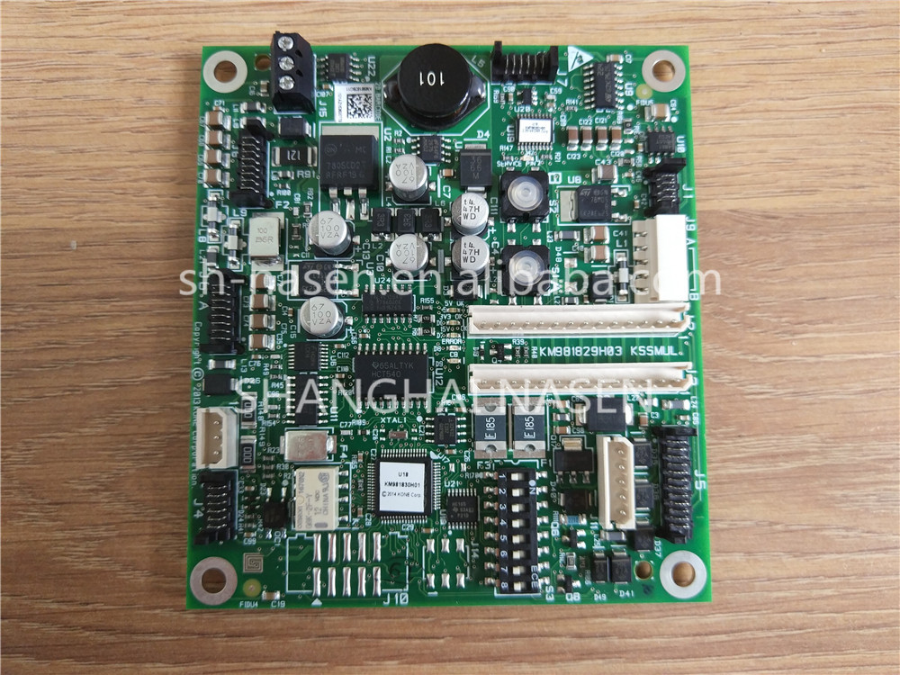 KONE board KM981829H03 KSSMUL KM981828G11 (replace KM772850G02)KONE board KM981829H03 KSSMUL KM981828G11 (replace KM772850G02)