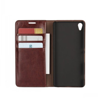 For Sony Xperia XA Cases Cover For Sony Xperia XA Mobile Phone Bag Genuine Leather