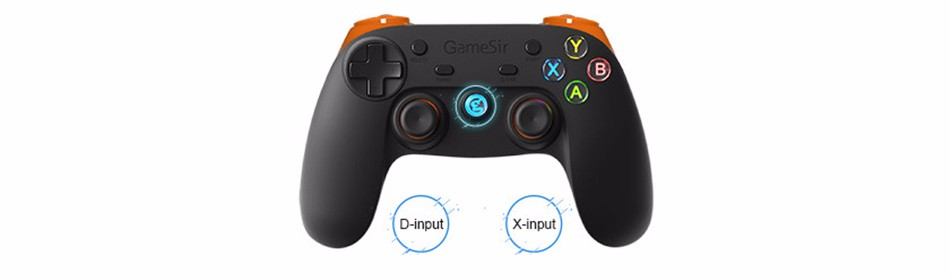GameSir G3s Gamepad for PS3 Controller Bluetooth&2.4GHz snes nes N64 Joystick PC for Samsung Gear VR Box for SONY Playstation 2 10