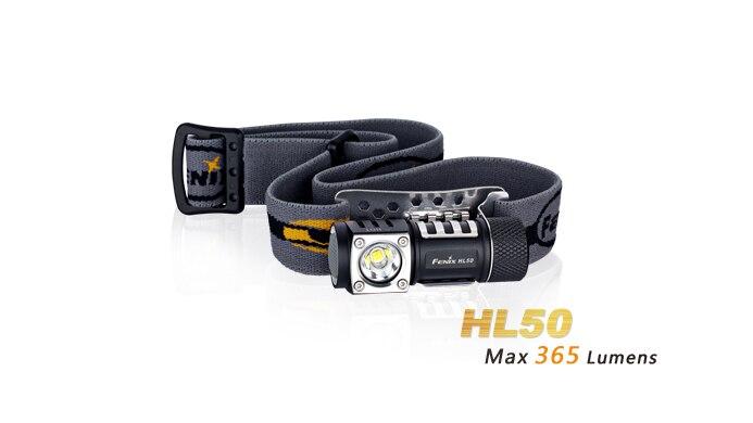 Free Shipping FENIX HL50 Utilizes Cree XM L2 T6 neutral white LED 365 lumens Multifunctional headlamp