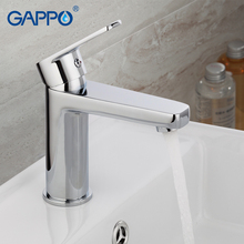 цена на GAPPO Basin Faucets Deck mounted Sink Mixers Bathroom faucet Chrome Plated taps Chrome Plated Hot and Cold Water Tap Mixer