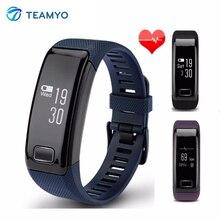 Teamyo C9 умный Браслет пульсометр cardiaco часы крови Давление шаг счетчик фитнес-трекер SmartBand водонепроницаемый