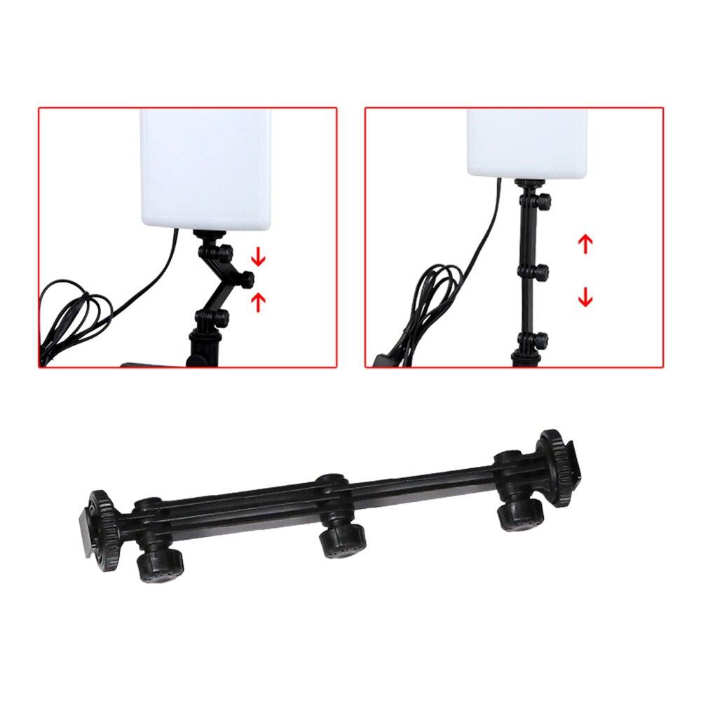 NanGuang LED lampe de lumière de Photo CN T96 2 Kit 220 V éclairage photographique avec Mini Table de tir et Kit de papier de fond - 2