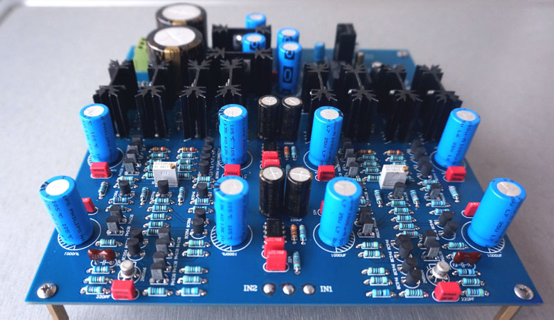 Audio amplifier Imitation KRELL ksa5 Class A amp Amplifier Board 70UM Double Copper PCB krell illusion