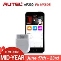 Autel AP200 Bluetooth OBD2 Car Scanner Automotive Diagnostic Tool DIY Code Reader Autoscanner for IOS Android PK Maxicom MK808